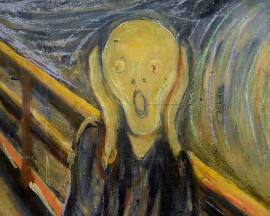Urlo di Munch: bentornato a casa. 31 agosto 2006