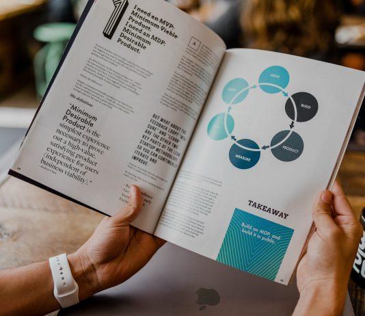 La stampa delle brochure