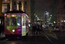 Cena tram a Milano